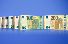 New €100 & €200 - Security features