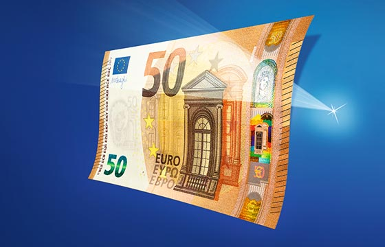 Unveiling of the new €50 banknote